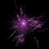 Violet abstractiom