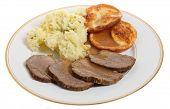 Roast Beef Plate