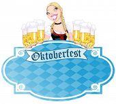Invitation car¬d to the Oktoberfest