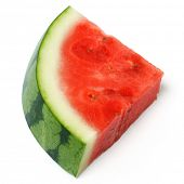 A slice of juicy water melon