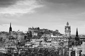 View Of The Edinburgh City Skyline, Scotland