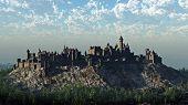Medieval Hilltop Castle