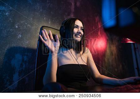 A Cute Female Gamer Girl
