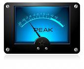 Electronic analog signal meter