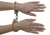 Handcuffs locked.