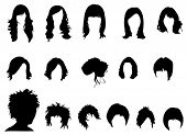 stock photo of black curly hair  - Hair styles - JPG