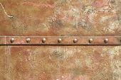 metal rivets background