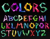 crystal color alphabet. See more in my portfolio