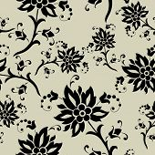seamless old fashion wallpaper