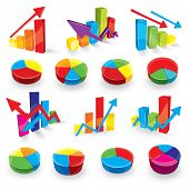 Colour diagrammes and elements