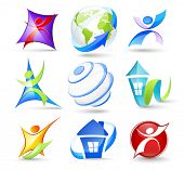 foto of people icon  - Collection of colour icons - JPG