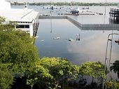 Flood In Bangkok, Thailand