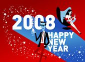 Vector illustration of New Year's Eve