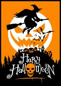 Halloween vector illustration 2. Edit the colors as you want.