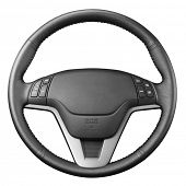 stock photo of steers  - Steering wheel - JPG