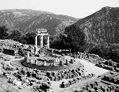 Sanctuary Of Athena At Delphi