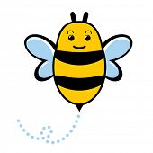 Cute baby bumblebee.