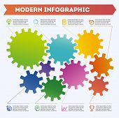 Infographic. Modern Infographic. Illustration Of Modern Infographics. Illustration Of Modern Infogra poster