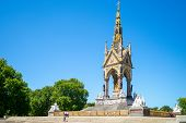 Albert Memorial, Situated In Kensington Gardens, Uk poster
