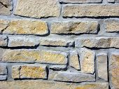 Flagstone Wall Horizontal