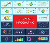 Inforgraphic Diagram Design Set Can Be Used For Business Project, For Annual Report, Web Design. Sta poster