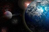 Deep Space Mily Way