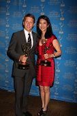 LOS ANGELES - JUN 17: Brad Bell, Christine Lai-Johnson at the 38th Annual Daytime Creative Arts & En