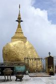 Golden Rock And Shrine