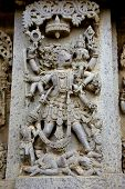 Hoysaleshvara Temple, Halebid,india