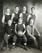 Vintage Basketball Team