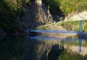 Bridge in nice landscape