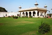 picture of khas  - Hall of Private Audience or Diwan I Khas at the Lal Qila  - JPG