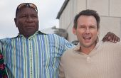 MOSCOW, RUSSIA, JULY, 18: Christian Slater and Ving Rhames. Premiere of the movie