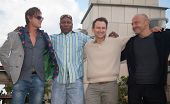 MOSCOW, RUSSIA, JULY, 18: Sean Bean, Christian Slater, V. Rhames and M. Korostishevsky. Premiere of the movie
