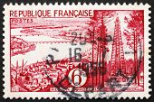 Postage stamp France 1955 Bordeaux, Gironde, France