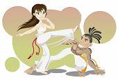 Arte marcial brasileño Capoeira