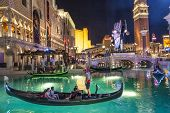 Gondolas At The Venetian Resort Hotel & Casino