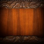 stock photo of wood craft  - vintage wood background - JPG