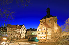 pic of regnitz  - The Old Town Hall of Bamberg - JPG