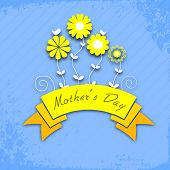 Vintage design for Happy Mothers Day.