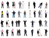 stock photo of backside  - collection  - JPG