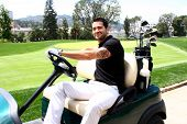 LOS ANGELES - APR 15:  Jesse Metcalfe at the Jack Wagner Celebrity Golf Tournament benefitting the L