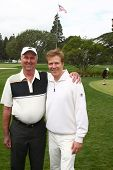 LOS ANGELES - APR 15:  Dennis Wagner, Jack Wagner at the Jack Wagner Celebrity Golf Tournament  at t