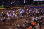 Holeshot Of Main Event Anaheim