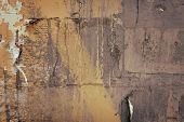 pic of rusty-spotted  - large grunge textures and backgrounds  - JPG