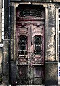 Grunge Door In Porto