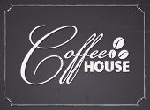 Chalkboard Coffee House Design