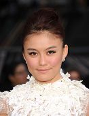 LOS ANGELES - APR 10:  Agnes Monica arrives to the