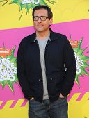 LOS ANGELES - MARCH 23:  Steve Carell arrives to the Kid's Choice Awards 2013  on March 23, 2013 in