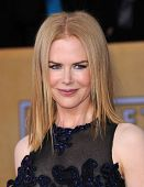 LOS ANGELES - JAN 27:  Nicole Kidman  arrives to the SAG Awards 2013  on January 27, 2013 in Los Ang